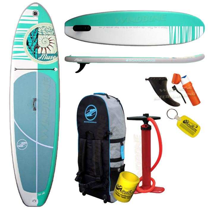 Boardworks Muse Inflatable SUP 10-2 Womens Touring Yoga 2017 Model ... 60043c0ac3
