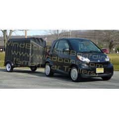 Smart Car Trailer Package Enclosed